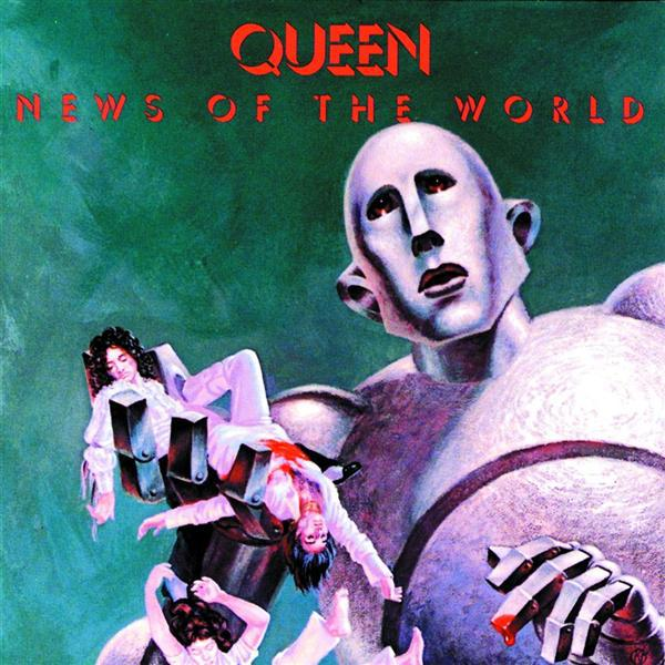 Queen- News of the World 40th Anniversary- Brian May, Neal Preston