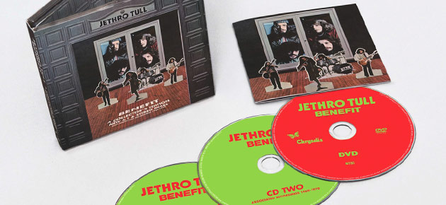 "Enter to Win: Jethro Tull ""Benefit Collector's Edition"" 2CD+DVD"