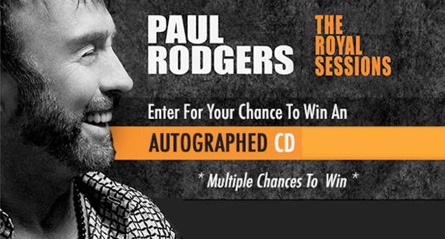 Enter to Win: Autographed Paul Rodgers CD