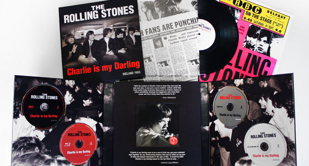 "Enter to Win: GRAMMY Award Winning The Rolling Stones ""Charlie is my Darling- Ireland 1965″ Super Deluxe Box Set"