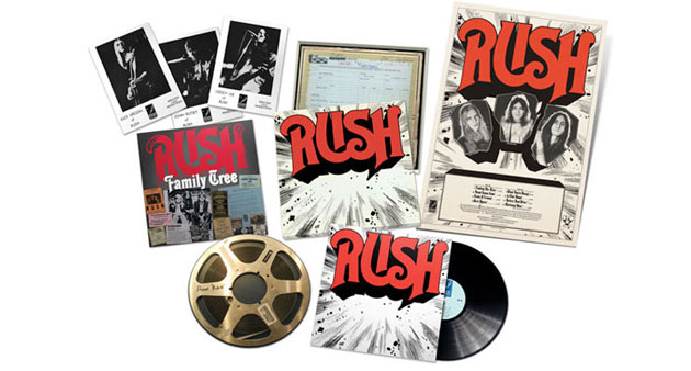 Enter to Win: Rush Debut Vinyl Box Set