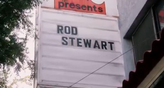 """Live Track: Rod Stewart """" Forever Young"""" at LA Troubadour 4-25-13"""