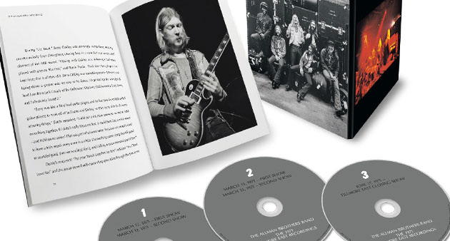 "Latest Show: Allman Brothers Band ""1971 Fillmore East Recordings"" with Gegg Allman, Dickey Betts"