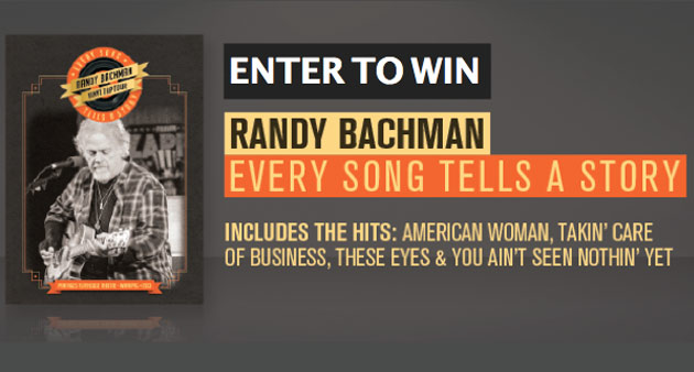 Enter to Win: Randy Bachman Live CD/DVD Set