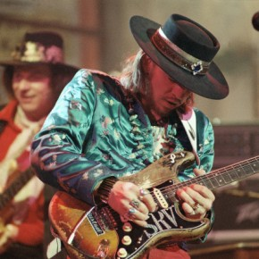 Hall of Fame In Step with Texas Pride & Joy Stevie Ray Vaughan & Double Trouble