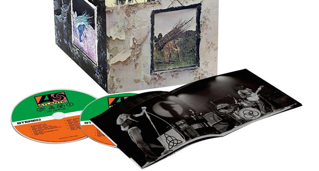 """Latest Show: Led Zeppelin """"4"""" with Jimmy Page, Robert Plant"""