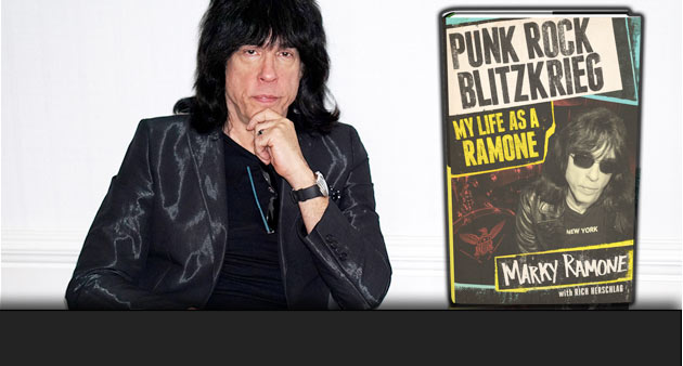 Enter to Win: PUNK ROCK Blitzkrieg: My Life As A Ramone Autographed BOOK