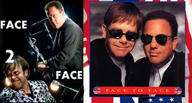 """Live Track: Billy Joel """"You May Be Right"""" w/ Elton John at Giants Stadium 7-94"""