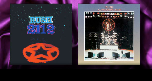 Enter to Win: RUSH 2112 & All The World's A Stage Vinyl