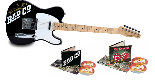 Enter to Win: Autographed BAD COMPANY Guitar & Deluxe CDs