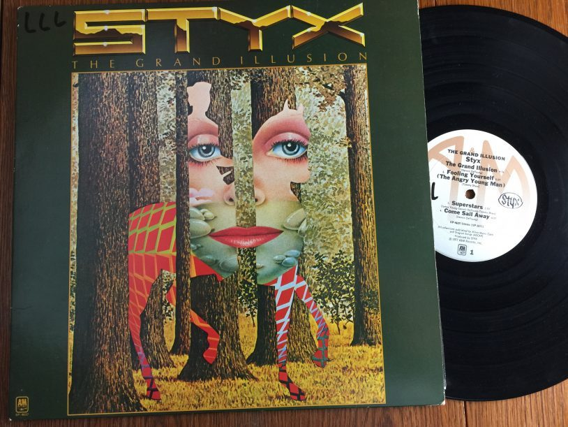 Styx Grand Illusion 40th Anniversary Tommy Shaw James