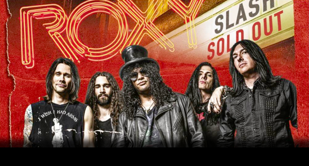 Enter to Win: SLASH Live at the Roxy 9/25/14 DVD
