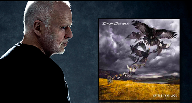 Enter to Win:DAVID GILMOUR  Rattle That Lock  CD