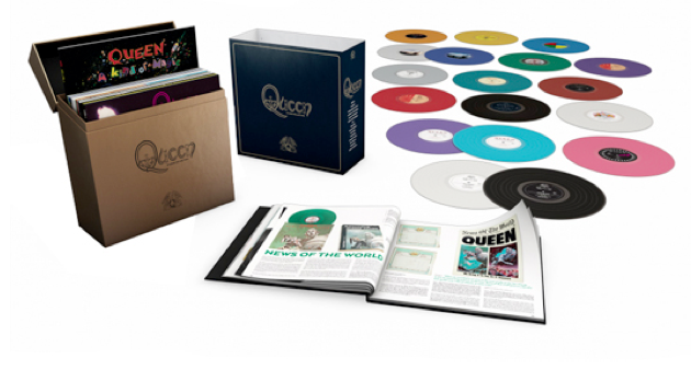 Enter to Win QUEEN The Studio Collection Special Edition Vinyl Box Set