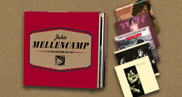 Enter To Win JOHN MELLENCAMP Vinyl Collection 5 LP Box Set