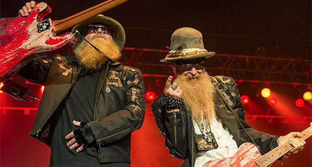 "Live Track: ZZ Top ""Rough Boy"" – London with Jeff Beck"