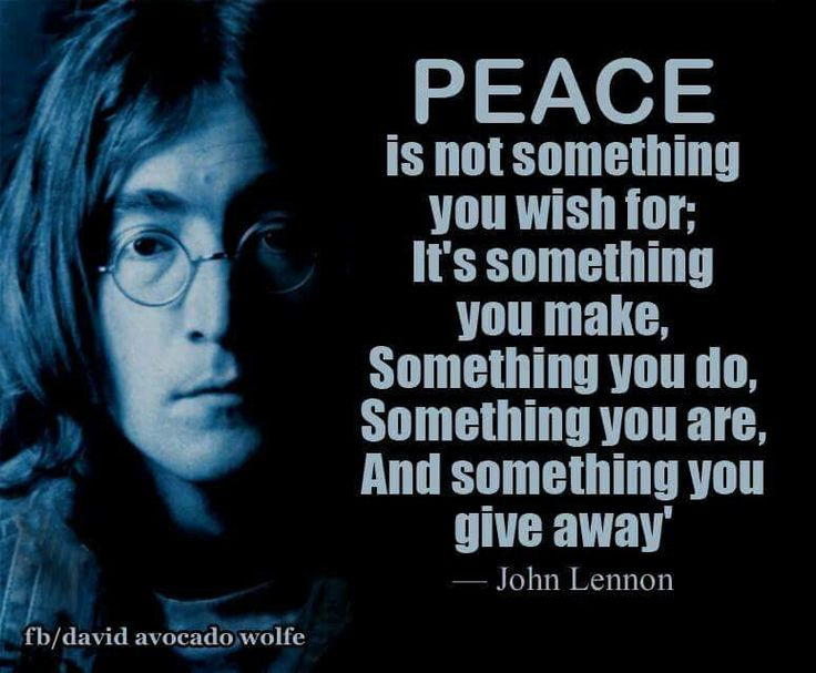 Image result for peace quotes john lennon